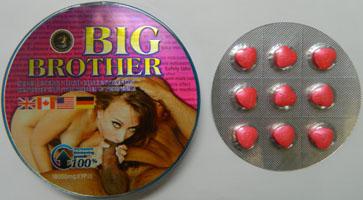 Таблетки большой брат для потенции